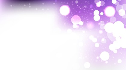 Abstract Purple and White Lights Background Vector Image