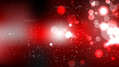 Red and Black Defocused Lights Background Illustrator