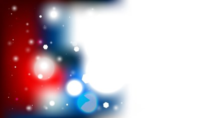 Abstract Red White and Blue Defocused Background