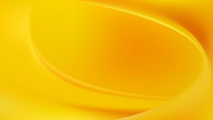Amber Color Wave Background Template Graphic