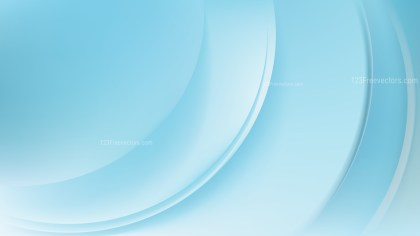 Abstract Glowing Baby Blue Wave Background