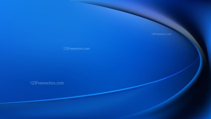 Glowing Black and Blue Wave Background Vector Graphic