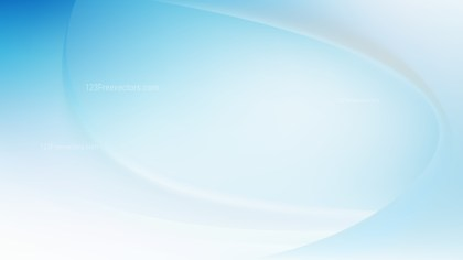 Blue and White Wave Background Template Vector