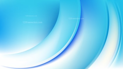 Blue and White Wave Background Template Design