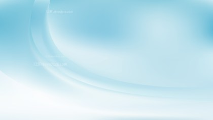 Blue and White Wavy Background Graphic