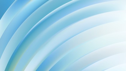 Abstract Blue and White Curved Stripes Vector Illustration