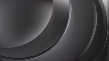 Abstract Dark Grey Shiny Wave Background Vector