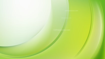 Glowing Green and White Wave Background Illustrator
