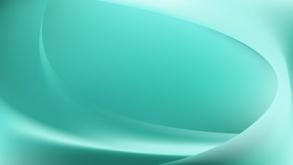Mint Green Wave Background
