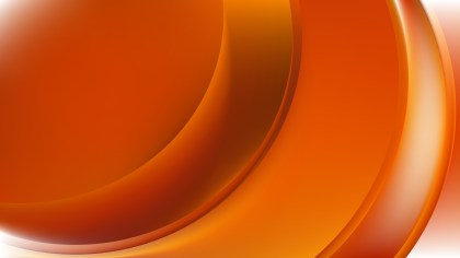Orange Curve Background