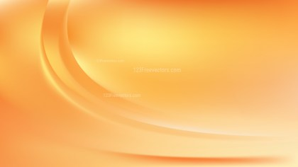 Abstract Orange Wave Background
