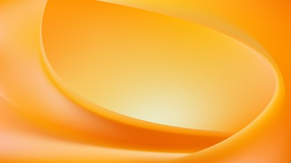 Abstract Orange Wave Background Template