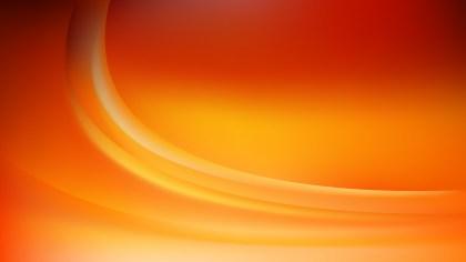 Orange Curve Background Image