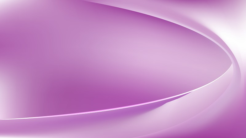 Abstract Purple and White Wave Background Template