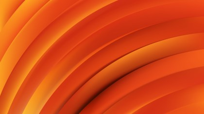 Abstract Red and Orange Curved Stripes