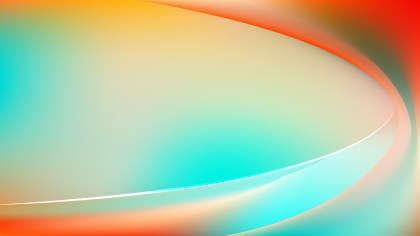 Abstract Glowing Red White and Blue Wave Background