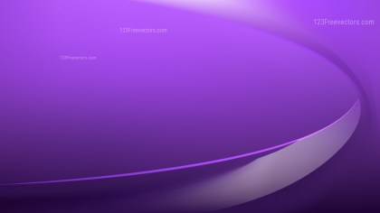Glowing Abstract Violet Wave Background