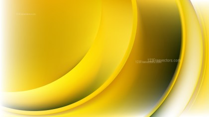 Abstract White and Gold Wavy Background