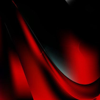 Abstract Cool Red Wavy Lines Background