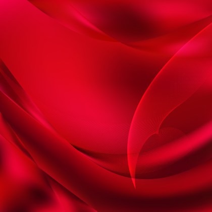 Dark Red Flowing Curves Background Vector Graphic