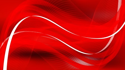 Dark Red Flow Curves Background Vector Image