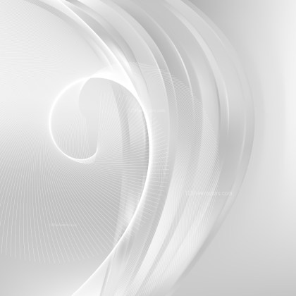 Light Grey Wavy Lines Background Template