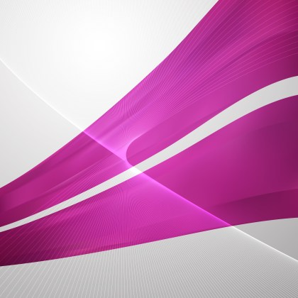 Abstract Pink Flowing Lines Background Illustrator