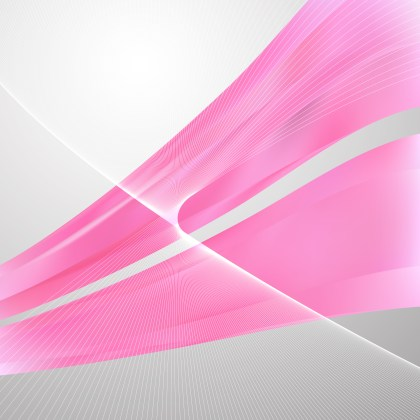 Abstract Pink Wavy Lines Background