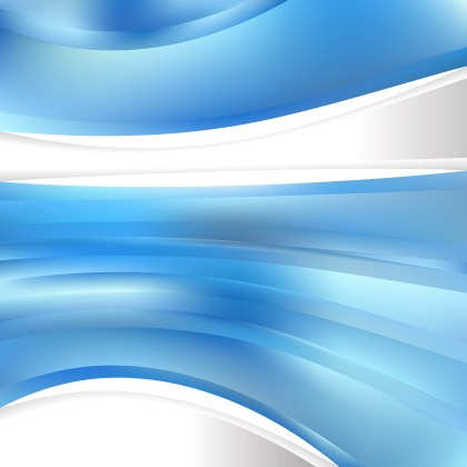 Abstract Blue Background Template Illustrator