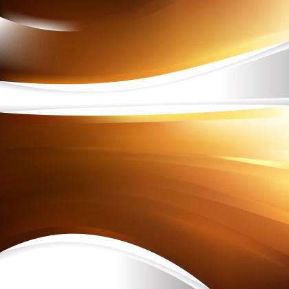 Abstract Dark Orange Background Design Template