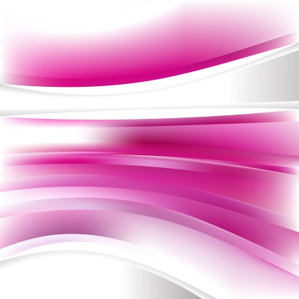 Pink and White Background Design Template