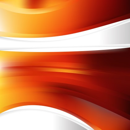Red and Orange Background Template Vector Art