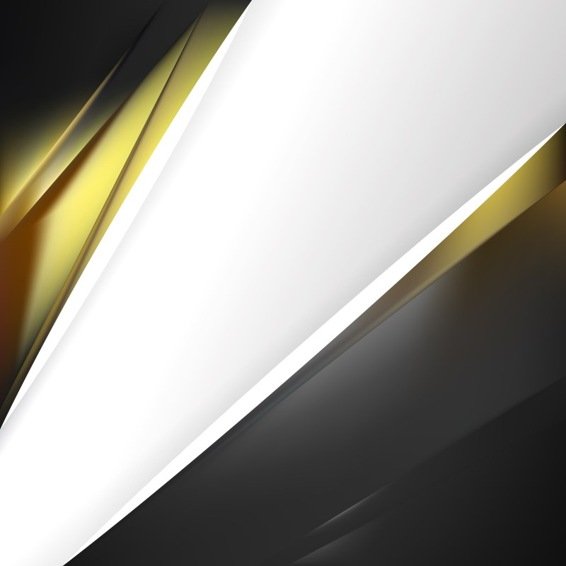 Black and Gold Business Background Template