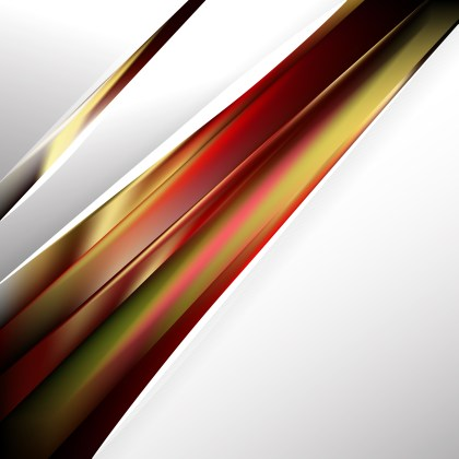 Abstract Black Red and Gold Business Brochure Illustrator