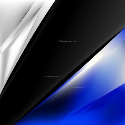 Blue Black and White Business Brochure Template