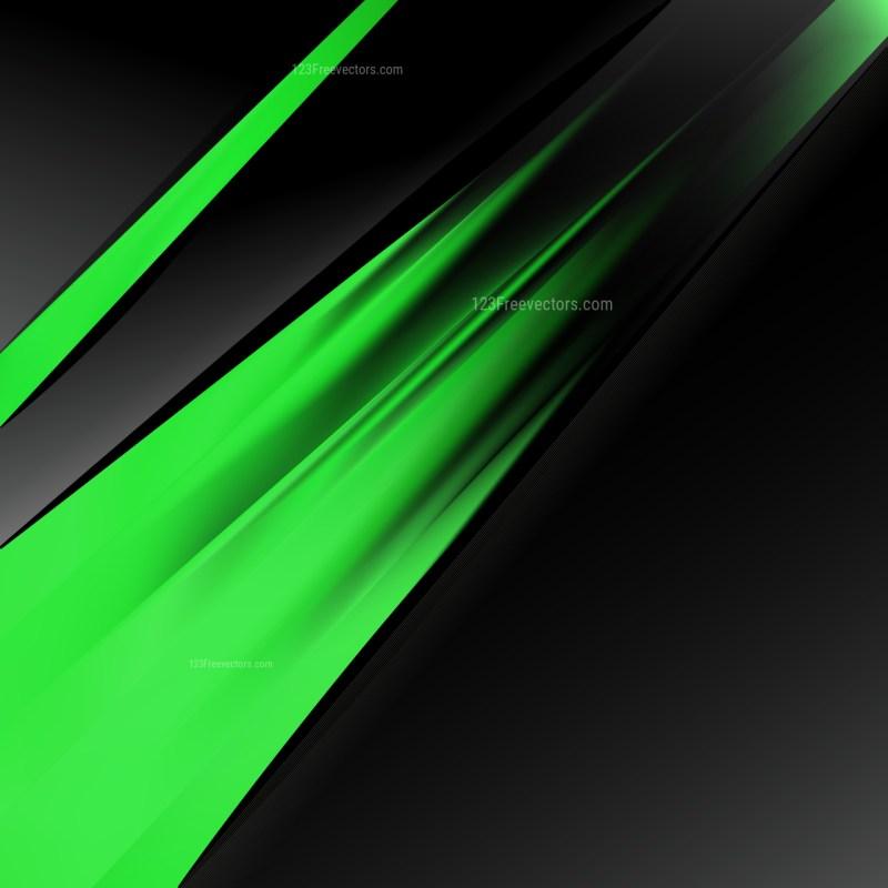 Cool Green Brochure Design Template Illustration