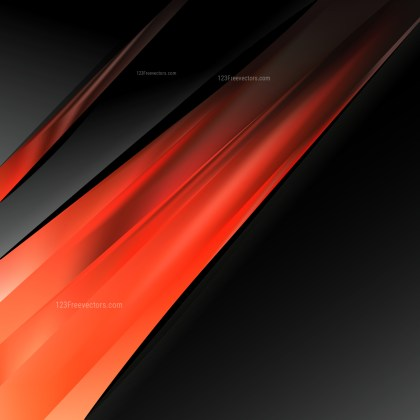Abstract Cool Orange Business Background Template
