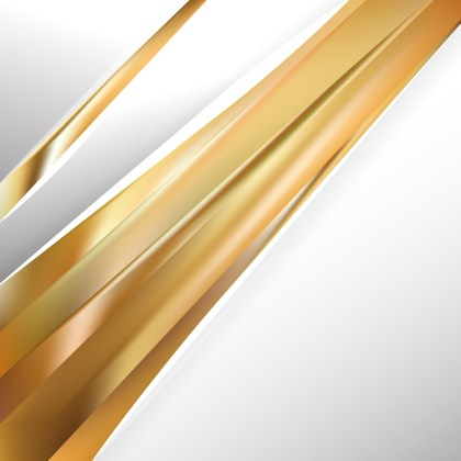 Abstract Gold Brochure Design Template
