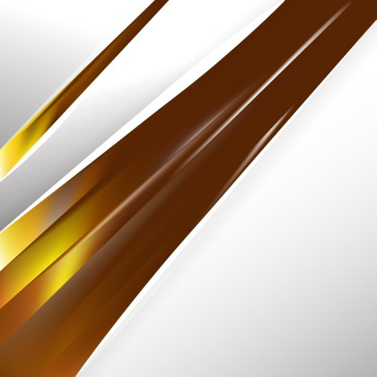 Abstract Orange and Brown Business Background Vector Graphic