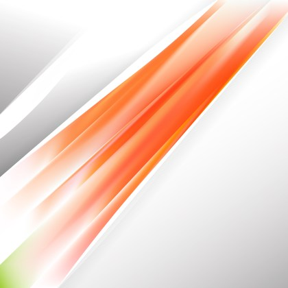 Abstract Orange and White Business Background Template