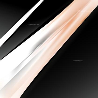 Orange Black and White Business Brochure Template