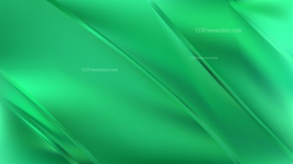 Emerald Green Diagonal Shiny Lines Background Vector Illustration