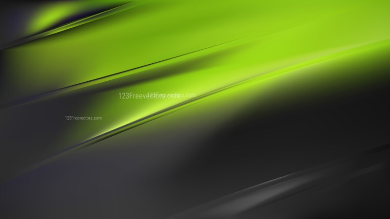 Abstract Green and Black Diagonal Shiny Lines Background