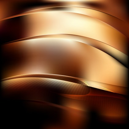 Abstract Black and Brown Graphic Background
