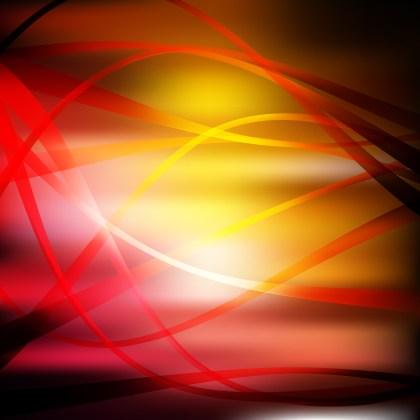 Black Red and Orange Background Vector Image