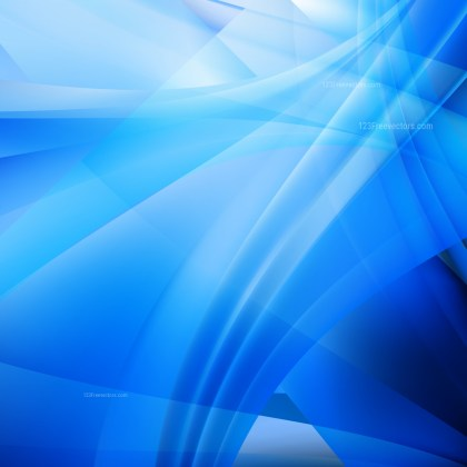 Abstract Blue Background Vector Illustration