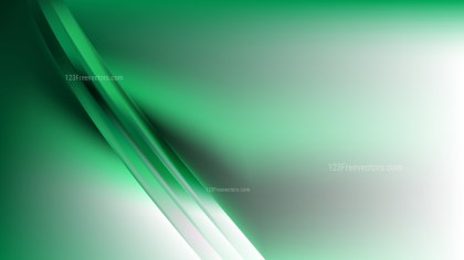 Abstract Green and White Graphic Background