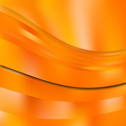 Abstract Orange Background Vector Illustration