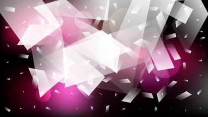 Abstract Pink Black and White Graphic Background
