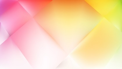 Abstract Pink Yellow and White Background